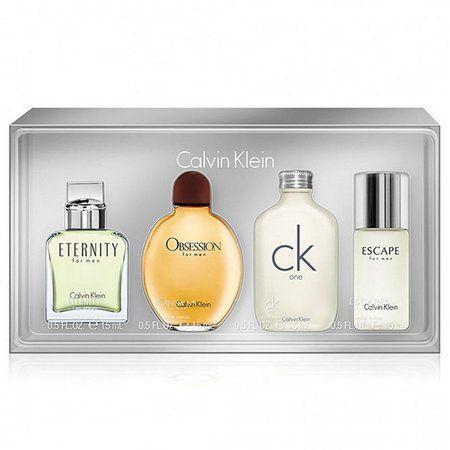 Kit 4 Miniaturas Calvin Klein Masculino