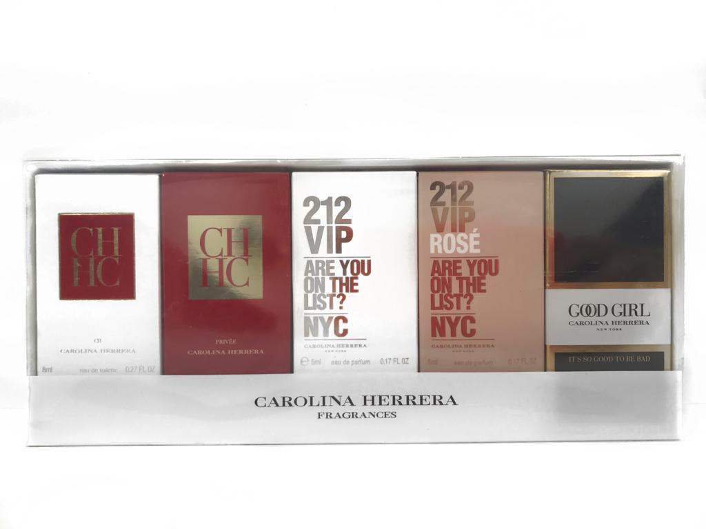 Kit 5 Miniaturas Carolina Herrera