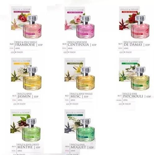 kit 8 fragrância Dolce Sense de 60 ml