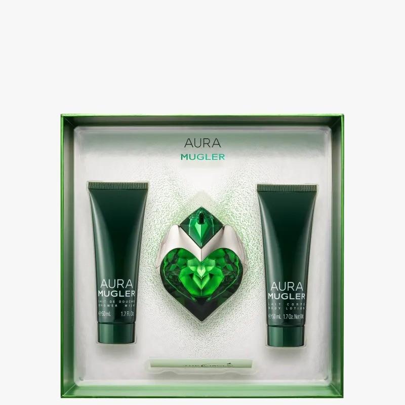Kit Aura Mugler 30 ml + 2 Body Lotion 50 ml Eau de Parfum Feminino