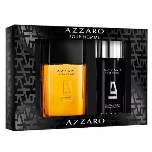 Kit Azzaro Pour Homme Masculino Eau de Toilette 100ml + Desodorante 150ml