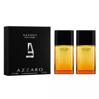 Kit Azzaro Pour Homme Masculino Eau de Toilette 30ml + 30ml