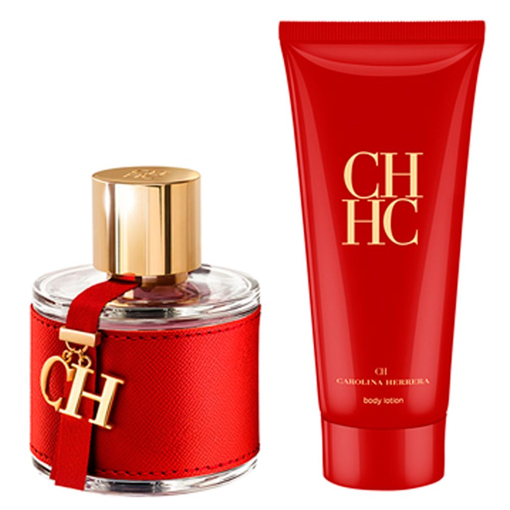 Kit CH Carolina Herrera Feminino Eau de Toilette 100ml + Body Lotion 100ml