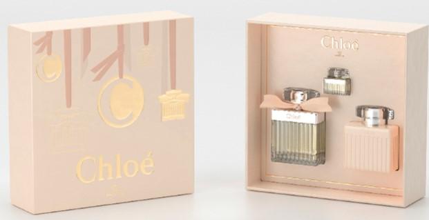 Kit Chloé Feminino EDP 75ml + Body Lotion 100ml + Miniatura 5ml