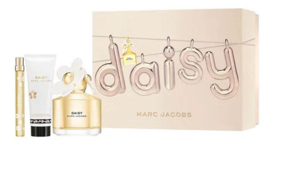 Kit Daisy Marc Jacobs Feminino Eau de Toilette 100 ml + Body Lotion 75 ml + Spray 10 ml
