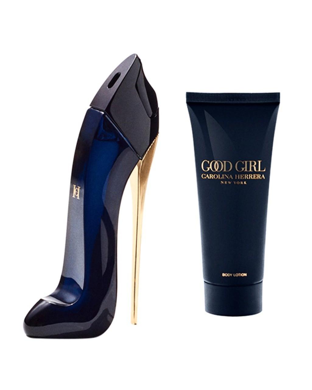 Kit Good Girl Carolina Herrera Feminino Eau de Parfum  80ml + body lotion 100ml