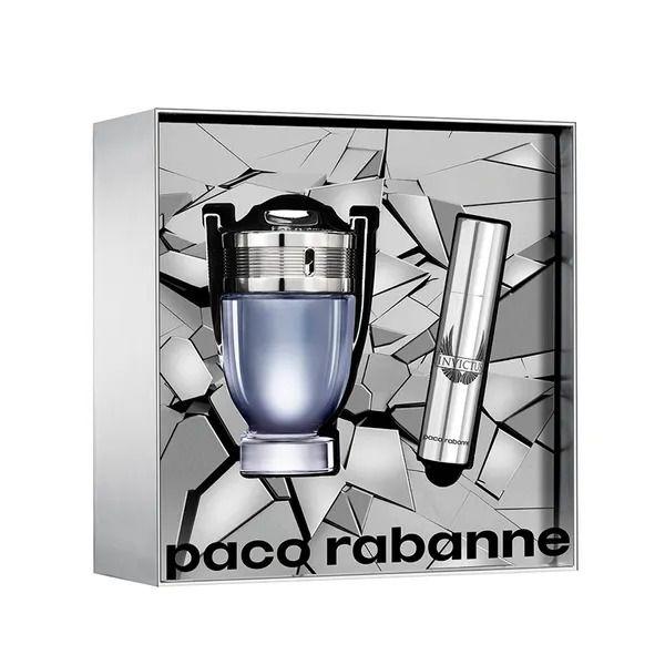 Kit Invictus Paco Rabanne Eau de Toilette 50ml + Spray 10ml