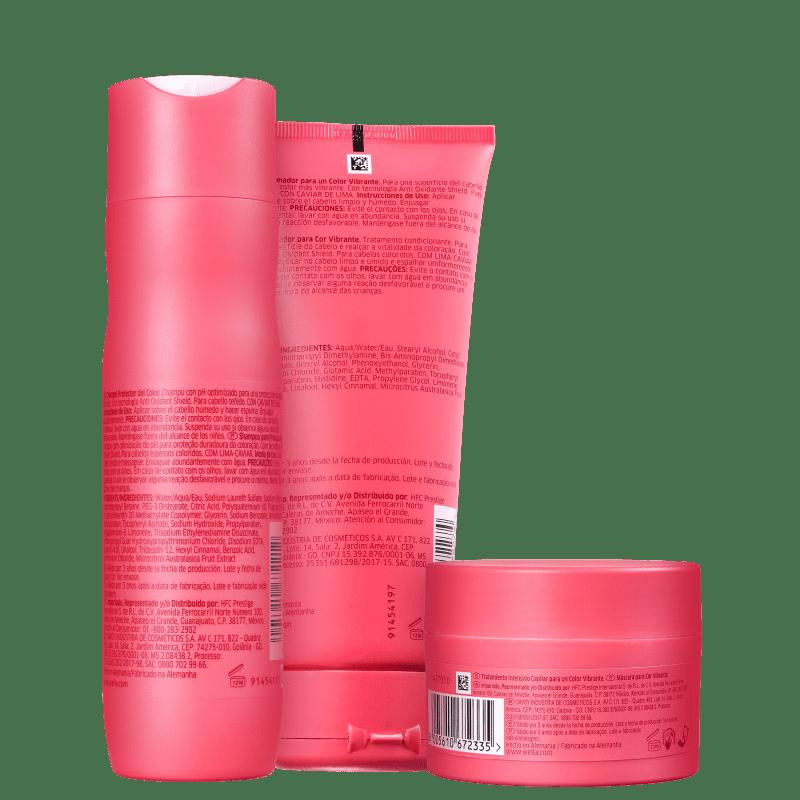 Kit Invigo Color Brilliance Wella Professionals Shampoo + Condicionador + Máscara