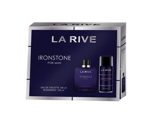 Kit  Ironstone La Rive Masculino Eau de Toilette  100 ml + Deodorante 150ml