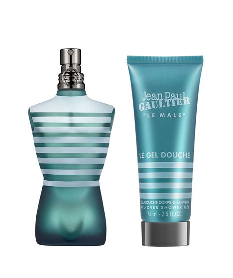 Kit Le Male Jean Paul Gaultier Masculino Eau de Toilette 75 ml + Gel Douche 75 ml