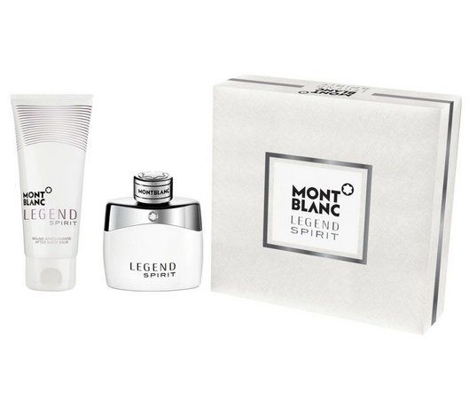 Kit Legend Spirit Montblanc Masculino Eau de Toilette 50ml + After Shave Balm 100ml