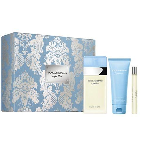 Kit Light Blue Dolce & Gabbana Feminino Eau de Toilette 100ml+10ml + Body Cream 75ml