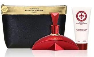 Kit Marina de Bourbon Rouge Royal 100ml + Body Lotion 100ml