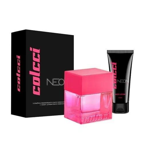 Kit Neon Colcci Feminino Colônia 100ml + Body Lotion 100ml