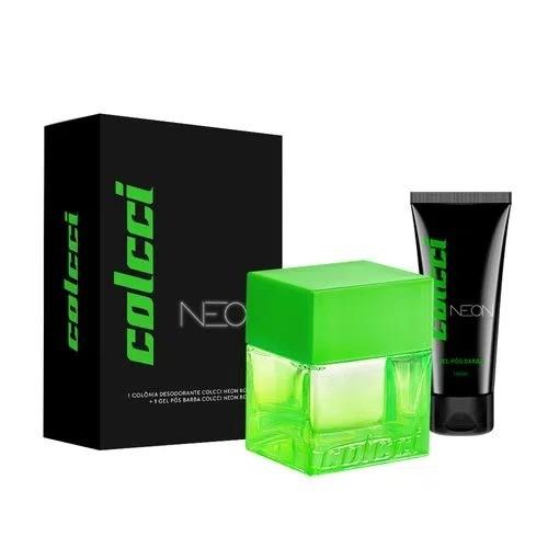 Kit Neon Colcci Masculino Colônia 100ml + Gel pós Barba 100ml