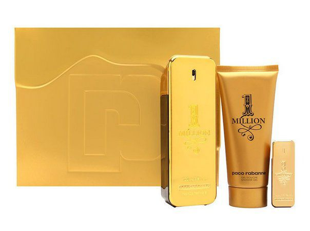 Kit One million Paco Rabanne Eau de Toilette 100ml + Miniatura 5ml + Gel de Banho