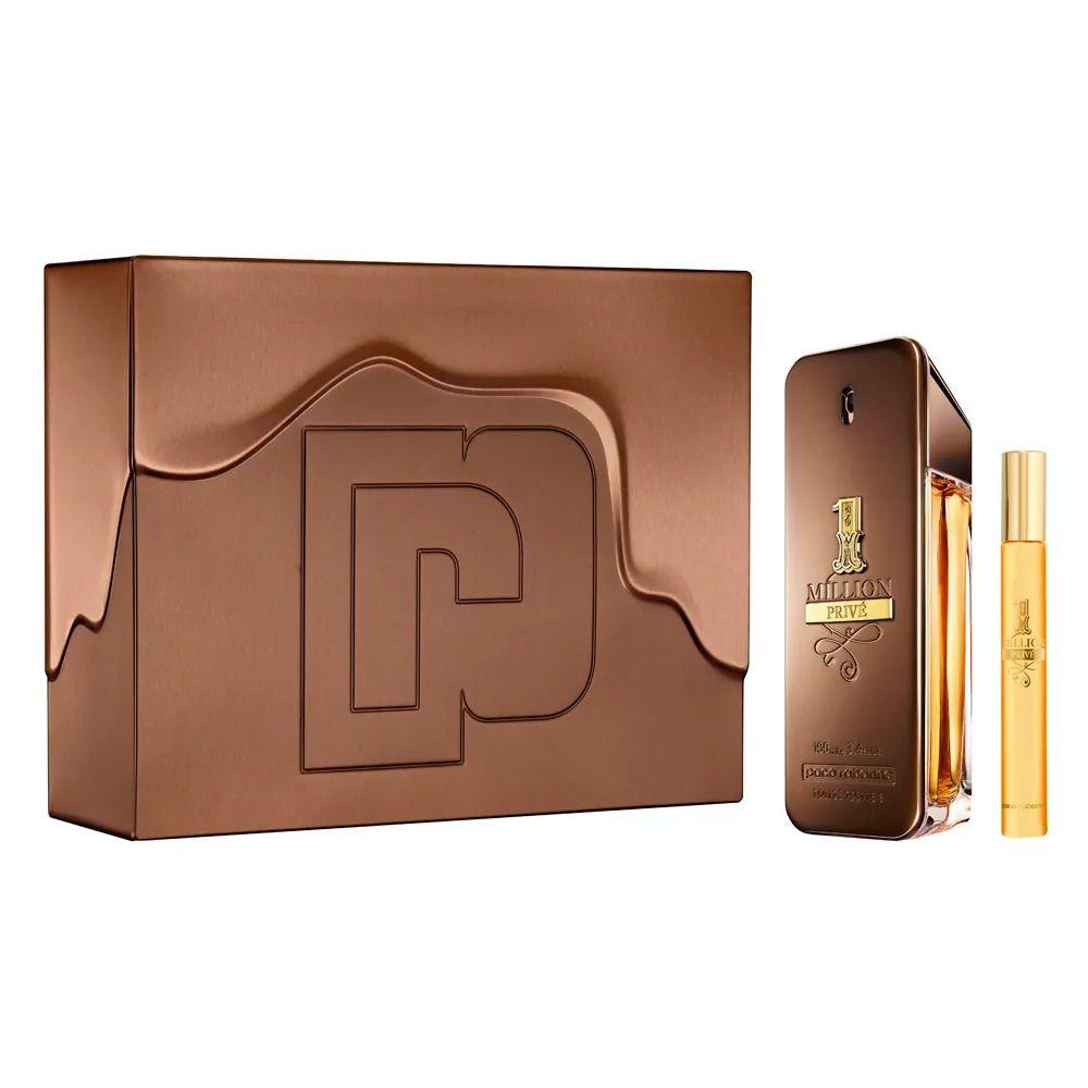 Kit One Million Privé Paco Rabanne Eau de Parfum 100ml + Spray 10ml