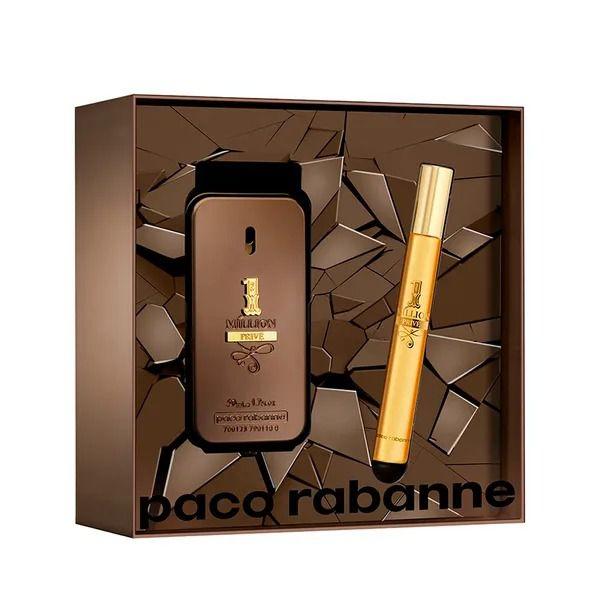 Kit One Million Privé Paco Rabanne Eau de Parfum 50ml + Spray 10ml