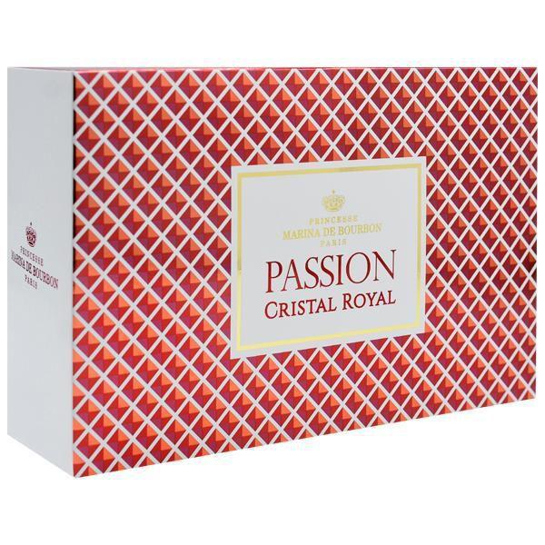 Kit Passion Cristal Royal Marina de Borbon Eau de Parfum 100ml + Body Lotion 150ml + Bolsa