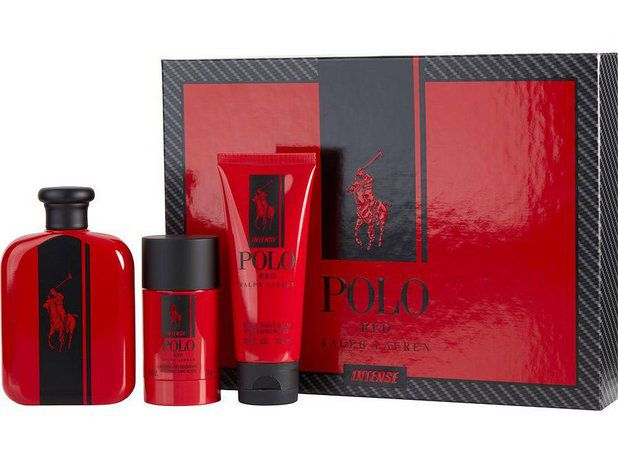 Kit Polo Red Intense Eau de Parfum 125ml + Gel Douche 100ml + Desodorante 75ml
