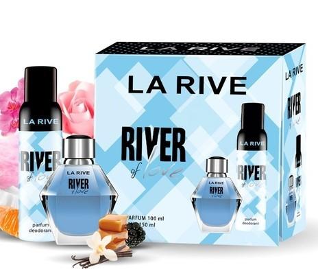 Kit River Of Love La Rive Feminino Eau de Parfum 100ml + desodorante 150ml