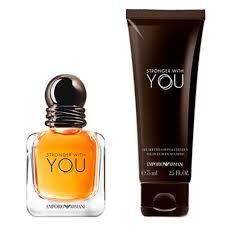 Kit Stronger With You Emporio Armani Perfume 30 ML+ Gel De Banho 75 ML