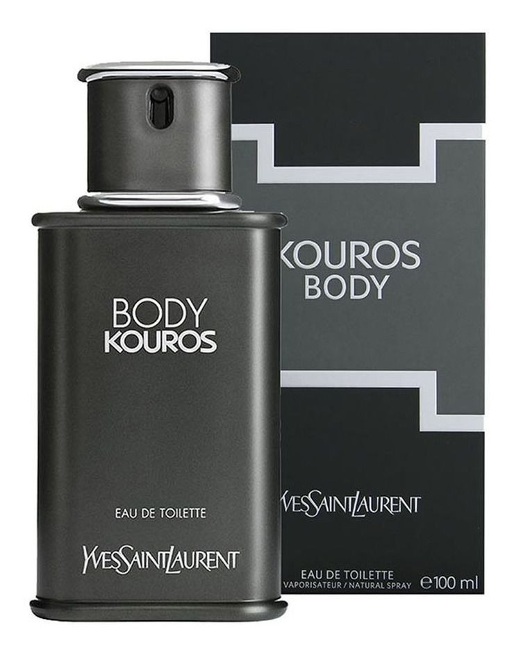 Kouros Body Yves Saint Laurent Masculino Eau de Toilette 100ml