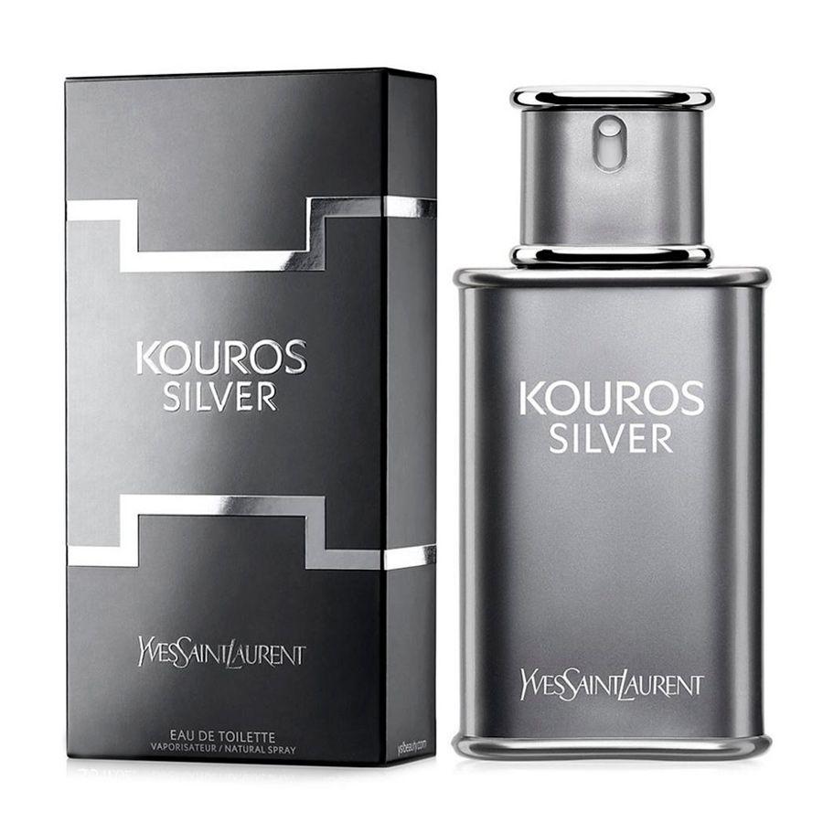 Kouros Silver Yves Saint Laurent Masculino Eau de Toilette