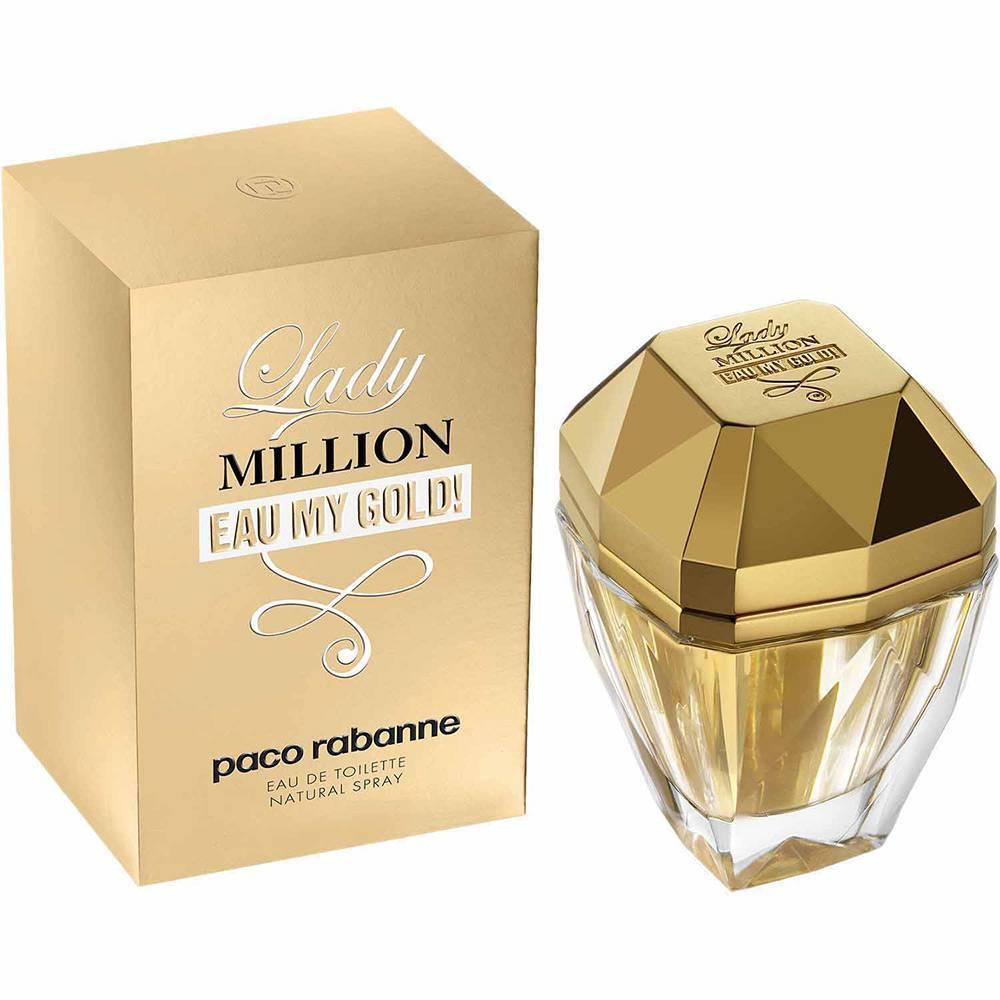 Lady Million Eau My Gold! Paco Rabanne Feminino Eau de Toilette