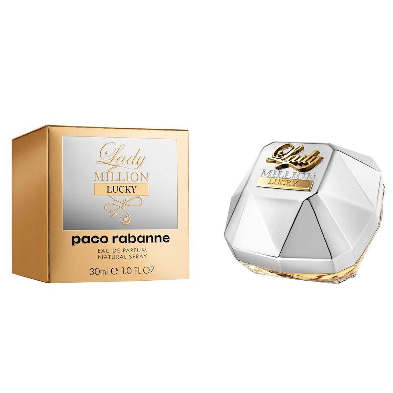 Lady Million Lucky Paco Rabanne Feminino Eau de Parfum 30ml