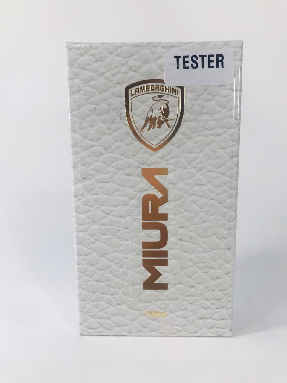 Lamborguini Miura Dêo Colônia 100 ml - Tester