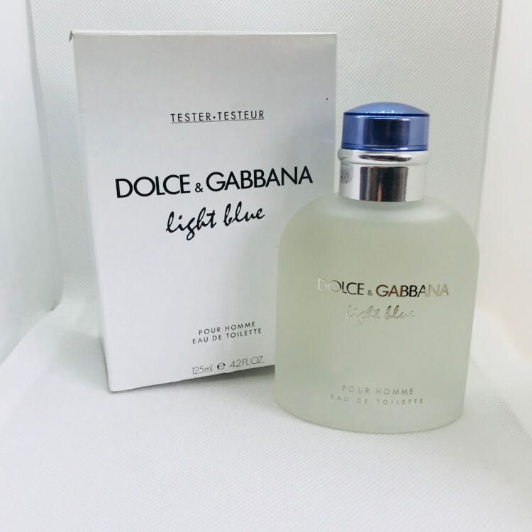 814f795029cd2 Light Blue Dolce   Gabbana Masculino Eau de Toilette 125ML