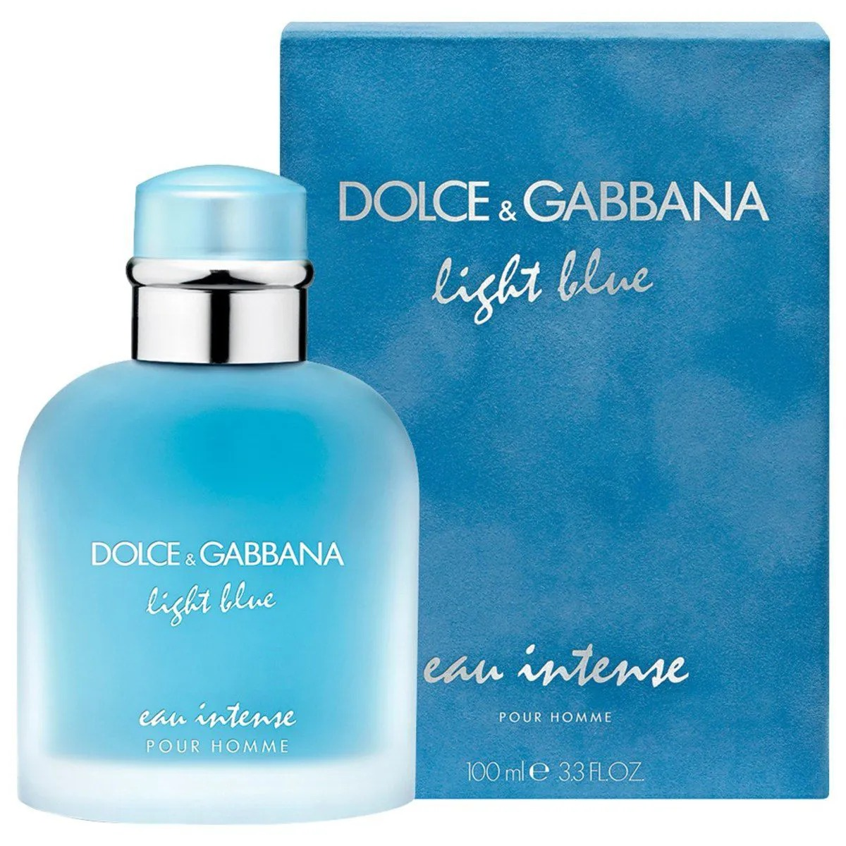 Light Blue  Eau Intense Dolce & Gabbana Masculino Eau de Parfum 100ml