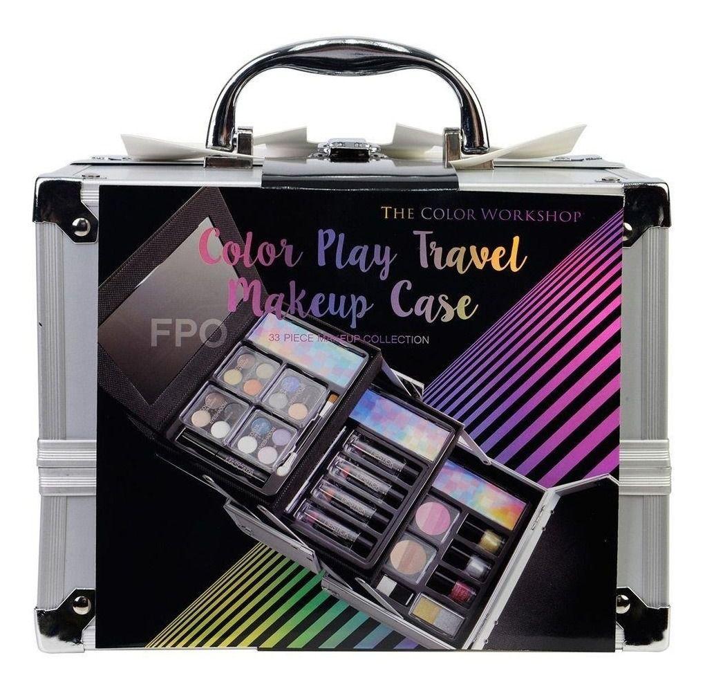 Maleta De Maquiagem Markwins Color Play Travel Makeup Case