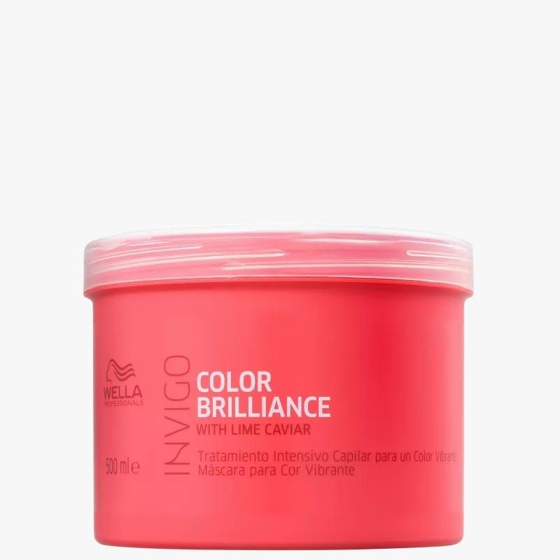 Máscara Color Brilliance  Wella Professionals Invigo  500ml