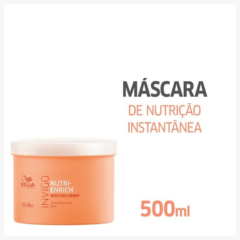 Máscara Nutri Enrich Wella Professionals Invigo 500ml