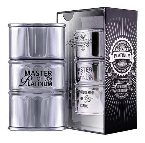 Master Of Essence Platinum  New Brand Masculino  Eau de Toilette