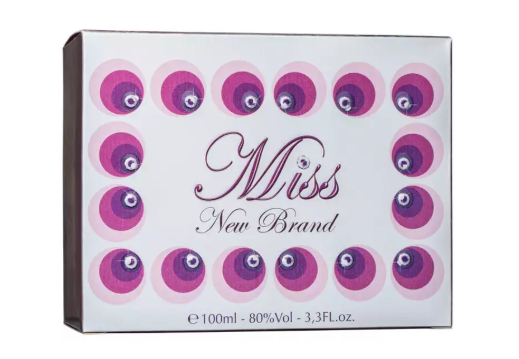 Miss For Women New Brand Feminino Eau De Parfum 100 ml