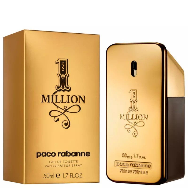 One Million Paco Rabanne Masculino Eau de Toilette 50ml