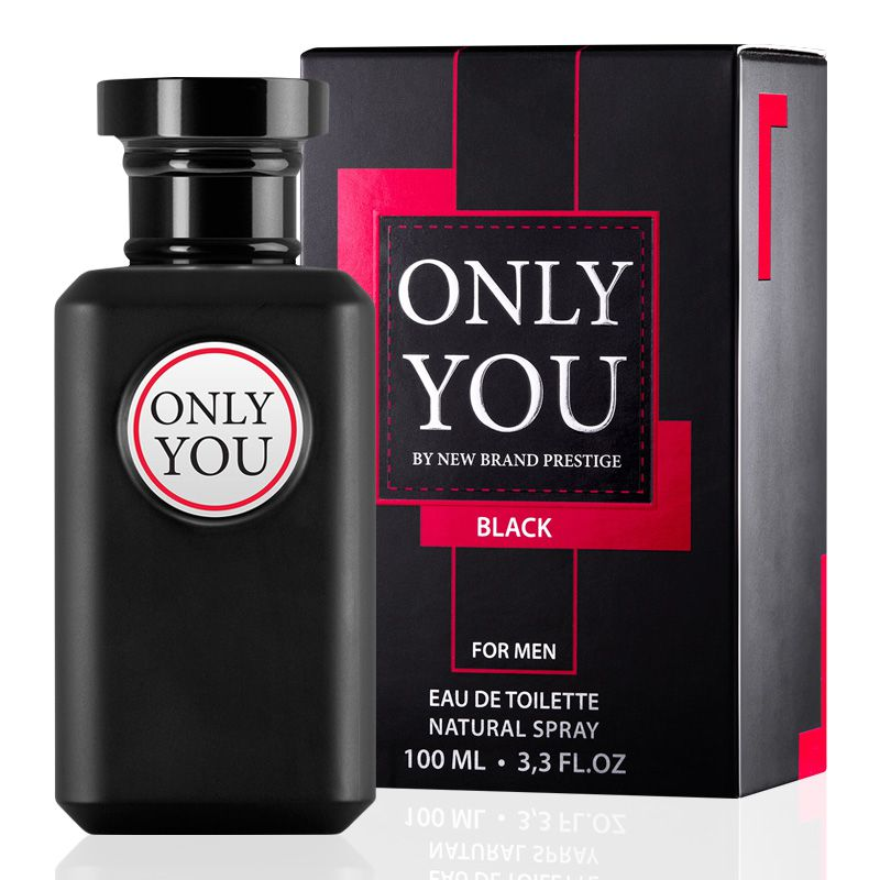 Only You Black New Brand Masculino Eau de Toilette 100ML