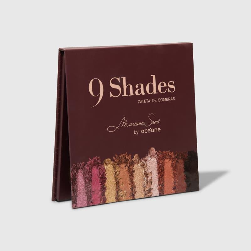 Paleta de Sombras Mariana Saad 9 Shades