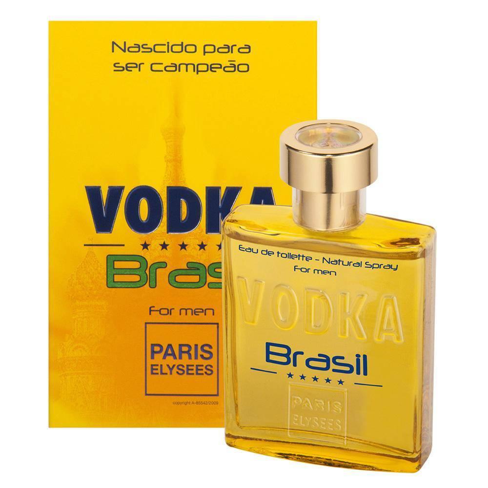 Vodka Brasil Yellow  Paris Elysees Masculino  Eau de Toilette 100ML