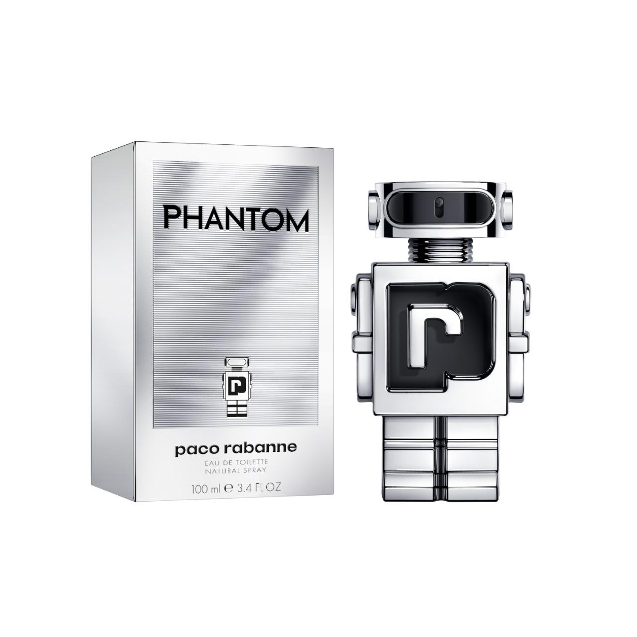 Phantom  Paco Rabanne Masculino Eau de Toilette 100ml