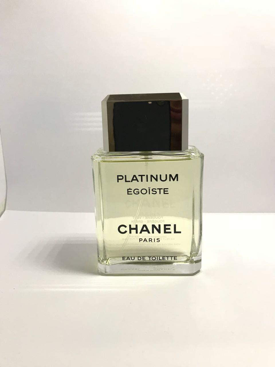 Platinum Egoiste Pour Homme Chanel Masculino Eau de Toilette 100ML- Tester