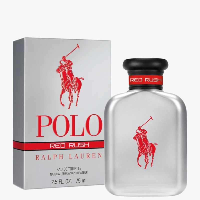 Polo Red Rush Ralph Lauren Masculino Eau de Toilette 75ml