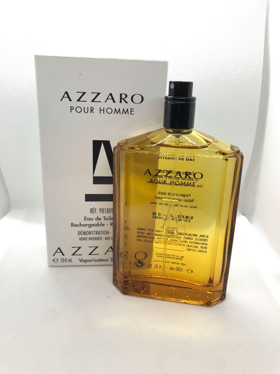 Pour Homme Azzaro Masculino Eau de Toilette 100ML - Tester