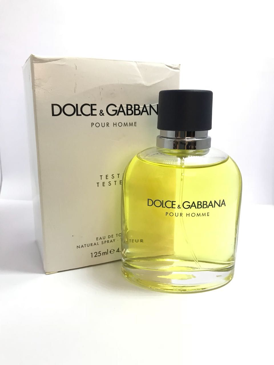 Pour Homme Dolce & Gabbana Masculino Eau de Toilette 125ML - Tester
