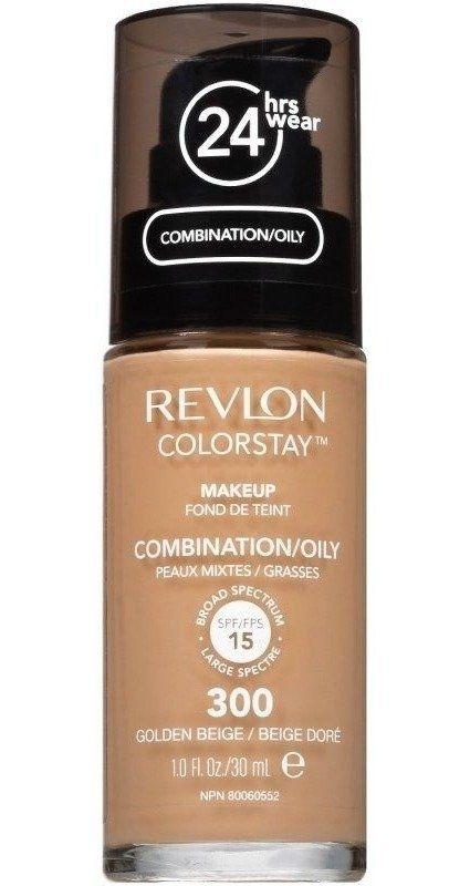 Revlon Colorstay Golden Beige 300 Pele Mista E Oleosa - Base Liquida 30ML