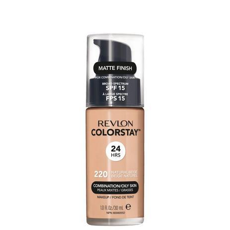 Revlon Colorstay Natural Beige 220 Pele Mista E Oleosa - Base Liquida 30ML