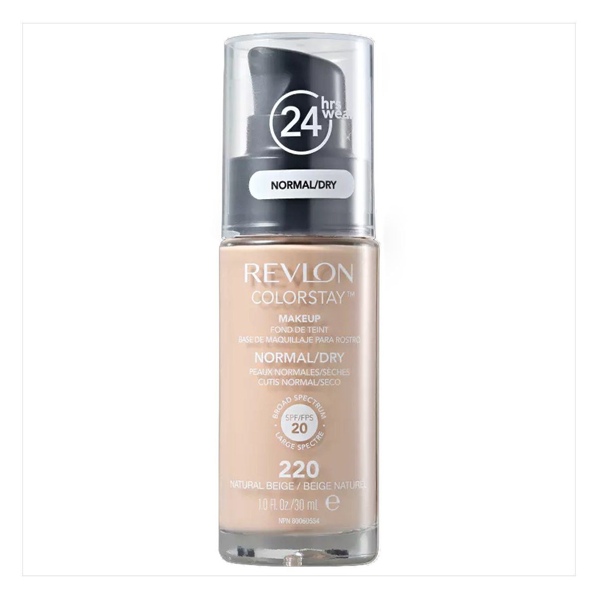 Revlon Colorstay Natural Beige 220 Pele Seca  - Base Liquida 30ml